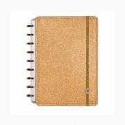 Caderno Inteligente Médio Glitter Bronze CIMD3054 27967