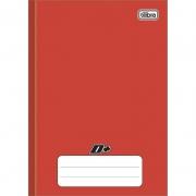 Caderno Brochura Capa Dura Vermelho 1/4 (Tamanho Pequeno) 116734 Tilibra 16887