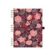 Caderno Ótima Floral Capa Dura 177X240 90 Fls 4194-6 23216