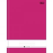 Caderno Tilibra Brochura Capa Dura Costurado Universitário Academie Rosa 96 Fls 149446 23473