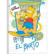 Caderno Tilibra Capa Dura Costurado Universitário 80 Fls The Simpsons 308901 27849