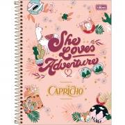 Caderno Tilibra Capa Dura Universitário 80 Fls Capricho 308455 28063