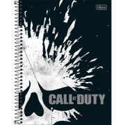 Caderno Tilibra Capa Dura Universitário Call Of Duty 10M 160 Fls 308048 27984