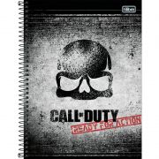 Caderno Tilibra Capa Dura Universitário Call Of Duty 80 Fls 308030 27980