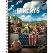 Caderno Tilibra Capa Dura Universitário Far Cry 80 Fls 307467 27981