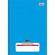 Caderno Tilibra Mais Capa Dura Costurado 1/4 96 Fls Azul Com Indice 313751 29832