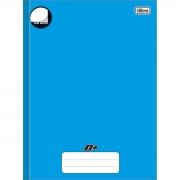 Caderno Brochura Capa Dura Universitário Azul Sem Pauta Tilibra  05071