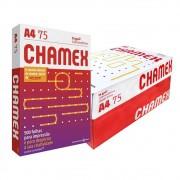 Caixa de Papel A4 Chamex 75g Com 10 Pacotes de 500 Fls