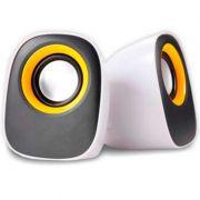 Caixa de Som Acustica Nipponic USB 2.0 Branca CR616 16153