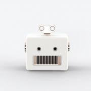 Caixa de Som Bluetooth UP4YOU Robo Branco Ra09503Up Br 28170