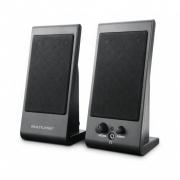 Caixa de Som Multilaser 3W Rms Flat USB Preta SP009 29936