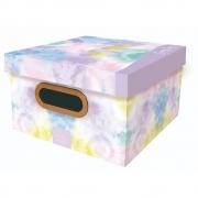 Caixa Organizadora Dello 25X25X15Cm Tie Dye Sunnyday 2219.01.0005 29521