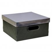 Caixa Organizadora Dello 29X29X15Cm M Metal Prata 2198.O.0005 26187