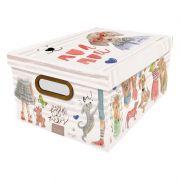 Caixa Organizadora Dello 38X29X18Cm Cachorro 2214.01.0005 27152
