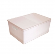 Caixa Organizadora Dello Soul Grande 424X300X185 Rosa/Rosa 3083.W2.0005 29349