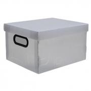 Caixa Organizadora Desmontável Cristal 380X290X185Mm M 2171H0005 Dello 21991