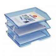 Caixa para Correspondencia Acrimet Facitily Tripla Azul 255 23897