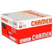 Caixa Papel A4 Chamex 75Grs 210 X 297mm Com 5 Pacotes de 500 Fls 29187