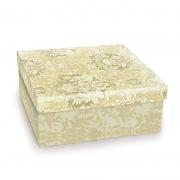 Caixa Para Presente Cromus Quadrada Colonial M 19X19X9 13500013-M 26705