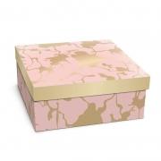 Caixa Para Presente Cromus Quadrada Mamore G 24X24X10 13500082-G 26704
