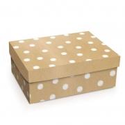 Caixa Para Presente Cromus Reta Alta Kraft Poa P 23X18X9 13500064-P 26696