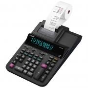Calculadora de Mesa Com Bobina Bivolt Preta DR-120R Casio 26601