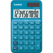 Calculadora Casio de Bolso SL-310UC My Style 10 Dígitos Azul 28238