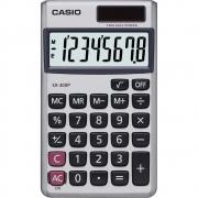 Calculadora Casio de Bolso SX-300P-W 8 Dígitos Prata 28222