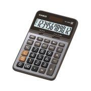 Calculadora Casio de Mesa AX-120B-W-Dc 12 Digitos Prata Acabamento Mt 28218