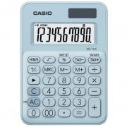 Calculadora Casio de Mesa Mini My Style 10 Dígitos Azul Claro 28234