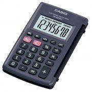 Calculadora de Bolso 8 Dígitos com Tampa Preta Hl-820Lv Casio 21720