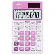 Calculadora de Bolso 8 Dígitos Color Pink Sl-300Nc Casio 21723