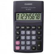Calculadora de Bolso 8 Dígitos Preta Hl-815L Casio 21722