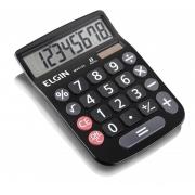Calculadora de Mesa 8 Digitos Preta MV-4133 Elgin 23877