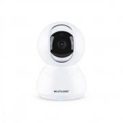 Camera Ip Wi-fi Hd 3.6mm 10m Com Rotação 360 Graus Liv SE221 Multilaser 30822