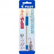 Caneta Esferográfica Azul 0.7mm BPS-Grip Pilot 12409