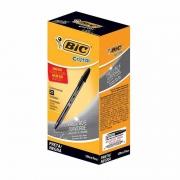 Caneta Esferográfica BIC Cristal Ultra Fine 0.7 Preta 25 Un. 902489 21058