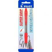 Caneta Esferográfica Pilot Super Grip 10R 1.0 Vermelha 12408