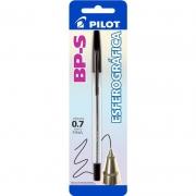 Caneta Esferográfica Preta BP-S 0.7mm Pilot 01737