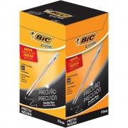 Caneta Esferográfica Preta Fine Plus Cristal 0.8 Caixa com 50 Uni. 1106460 BIC 15431
