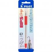 Caneta Esferográfica Vermelha 0.7mm BPS-Grip Pilot 12410
