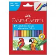 Caneta Hidrográfica 12 Cores 150112CZF Faber-Castell 18083