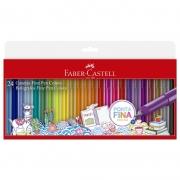 Caneta Hidrográfica Fine Pen Faber-Castell 24 Cores FPB/ES24ZF 27637