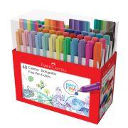 Caneta Hidrográfica Fine Pen Faber-Castell 48 Cores FPB/ES48ZF 27640