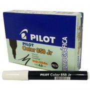 Caneta Hidrográfica Preta Color 850 Junior Caixa Com 12 Un. Pilot 15096