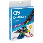 Caneta Pen Brush CiS Dual Brush 36 Cores 58.0200 27334
