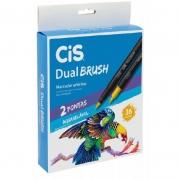 Caneta Pen Brush CiS Dual Brush 36 Cores 58.0200 27334