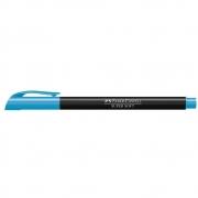 Caneta Pen Brush Faber-Castell Supersoft Azul Hsoft/Az 28879