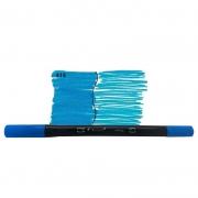 Caneta Pincel Bismark Dual Brush Dualtip Azul Royal PK0100C 515 27039