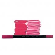Caneta Pincel Bismark Dual Brush Dualtip Rosa PK0100C 653 27044